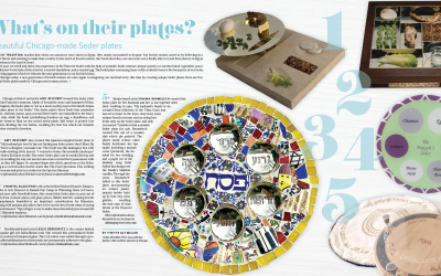 JUF News March 2021 Seder Plate Special
